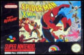 Spiderman & X-men SNES EU cover