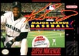 Ken Griffey Jnr presents Major League Baseball - SNES