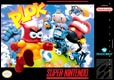 Plok! SNES US cover