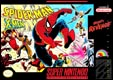 Spiderman & X-men SNES US cover