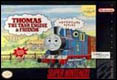 Thomas the Tank Engine and Friends SNES US cover