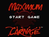 Maximum Carnage screen shot 1