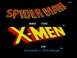 Spiderman & X-men screen shot 1