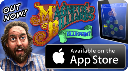 Magnetic Billiards: Blueprint now available on the App Store