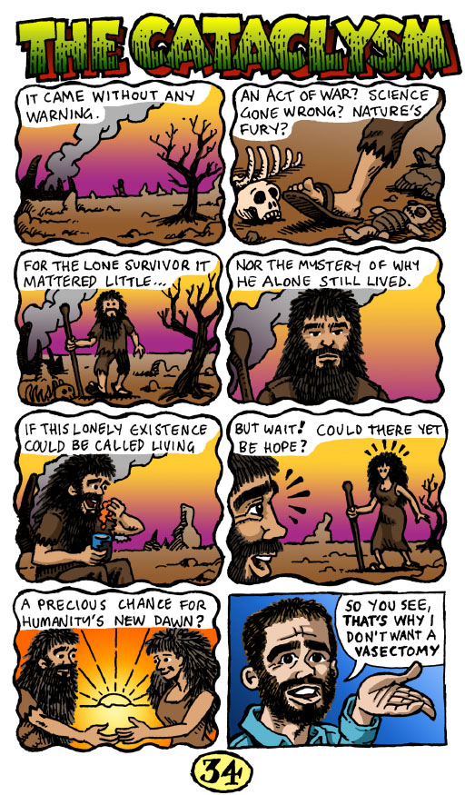 Comic strip (The Cataclysm)