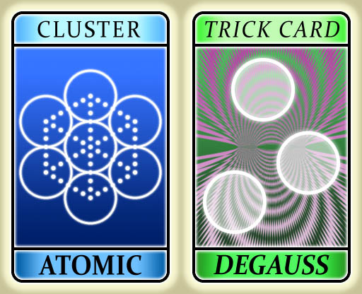 Magnetic Billiards Degauss card