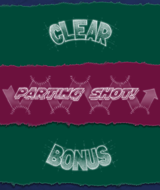 Clear Bonus and Parting Shot logos