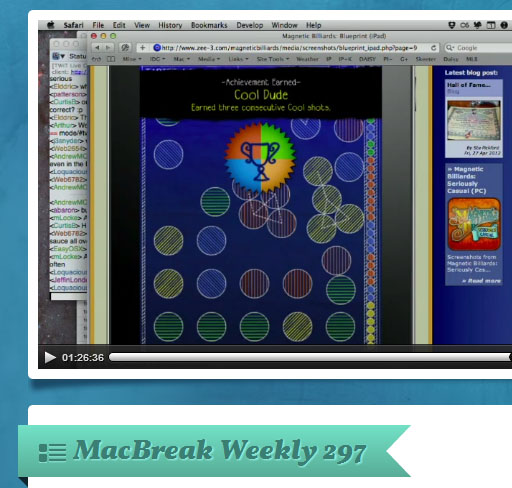 Pick of the Week - MacBreak Weekly #297