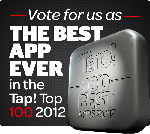 100 Best Apps Ever, two years running!