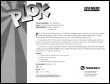 Plok SNES flyer - back