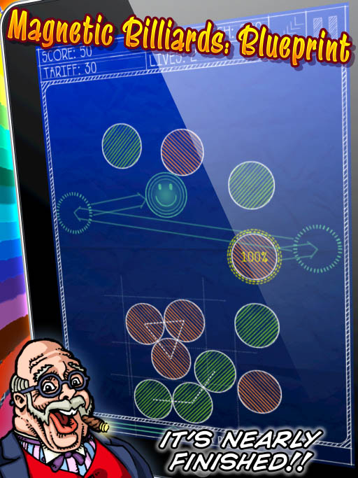 Magnetic Billiards:Blueprint hits Alpha!  Or is it Beta?