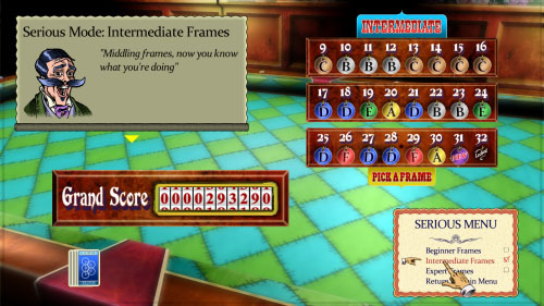A screen from Magnetic Billiards
