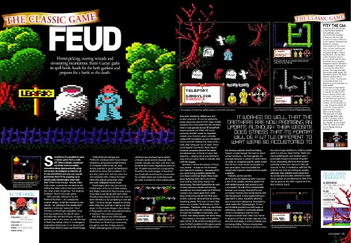 Retro Gamer #35 - Feud