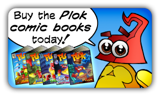Plok Vol 1 now available on Kindle, iBooks and in print