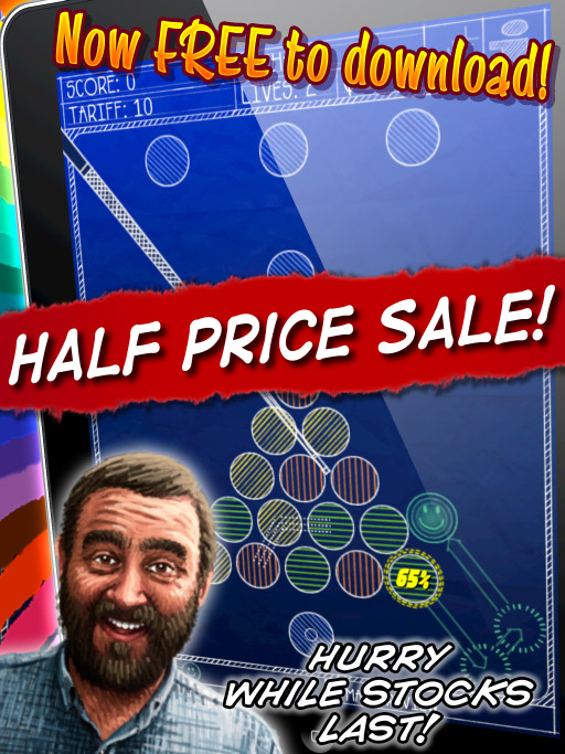 Magnetic Billiards: Blueprint Half Price Sale!
